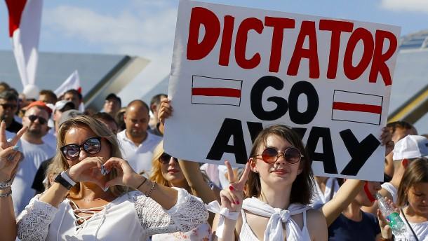 So viele wie nie fordern: Lukaschenka, geh!
