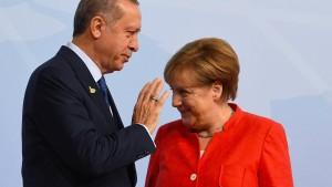 Merkel verbittet sich Einmischung Erdogans in Wahlkampf