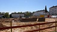 Hier wird's enger: In der Hermann-Löns-Siedlung in Schierstein entstehen 264 neue Wohnungen.