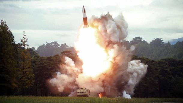 Erneute Raketentests in Nordkorea