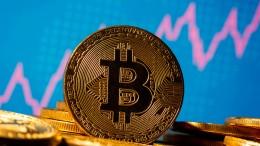Bitcoin steigt erstmals über 40.000 Dollar
