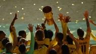 Alle stehen hinter dem großen Ziel: Der BVB funktionierte als Mannschaft perfekt.