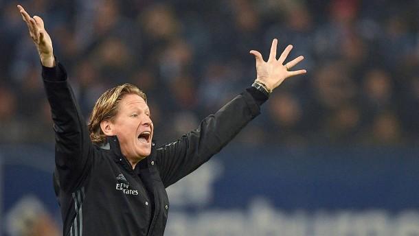 Trainer Gisdol greift beim HSV durch