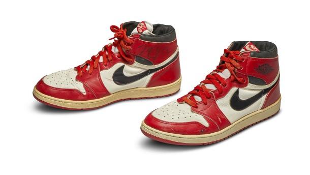 Michael Jordans Basketball-Schuhe für 560.000 Dollar versteigert