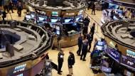 Geschäftiges Treiben: Das Handelsparkett an der New Yorker Börse.