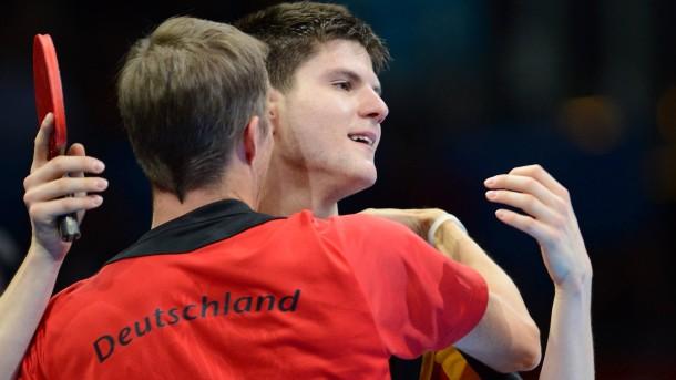 Bilderstrecke Zu Tischtennisspieler Ovtcharov Bronze Für Den