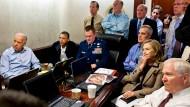 Daten und Drohnen: Obama verfolgt 2011 den Einsatz gegen Bin Ladin