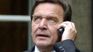 NSA soll schon Gerhard Schröder abgehört haben