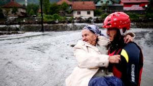 Verheerender Regen auf dem Balkan