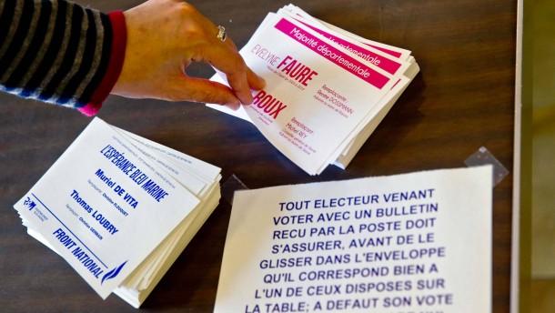 Frankreich rückt nach rechts