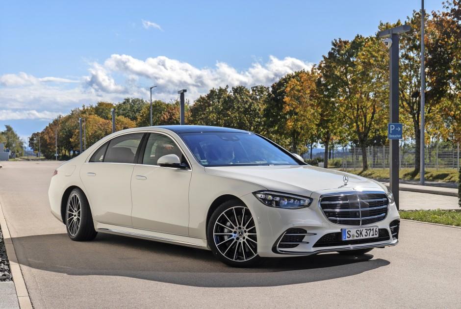 Setzt Zeichen: Mercedes-Benz