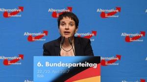 AfD vertagt Abstimmung über Petrys Antrag für Realo-Kurs