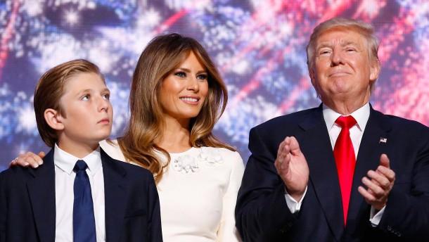 Melania und Barron Trump bleiben vorerst in New York