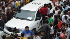 Amerika: Neue Syrien-Politik auch ohne UN-Mandat