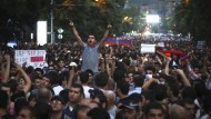 Tausende protestieren gegen hohe Strompreise