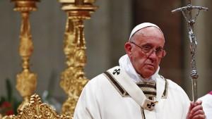Papst geißelt die Unbarmherzigkeit der Konsumgesellschaft