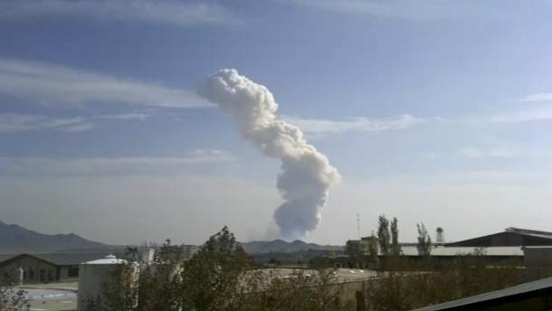 Explosion in iranischer Militärbasis