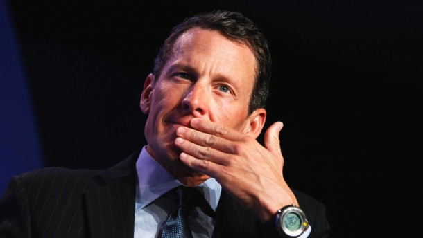 File photo of Lance Armstrong in New York