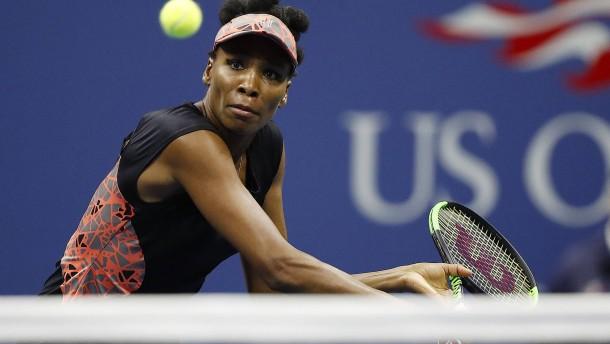 Venus Williams fehlen zwei Punkte zum Finale