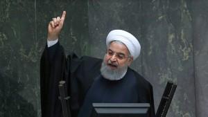 Ruhani: Iraner dürfen protestieren – aber ohne Gewalt