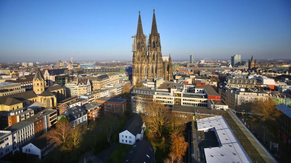 Blick auf den Kölner Dom: Köln ist Digitalhauptstadt