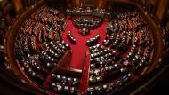 Der Senat in Rom während der Vertrauensabstimmung Anfang September.