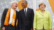 Obama-Besuch wird zum Politikum