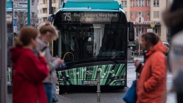 34 weitere Elektrobusse für Frankfurt