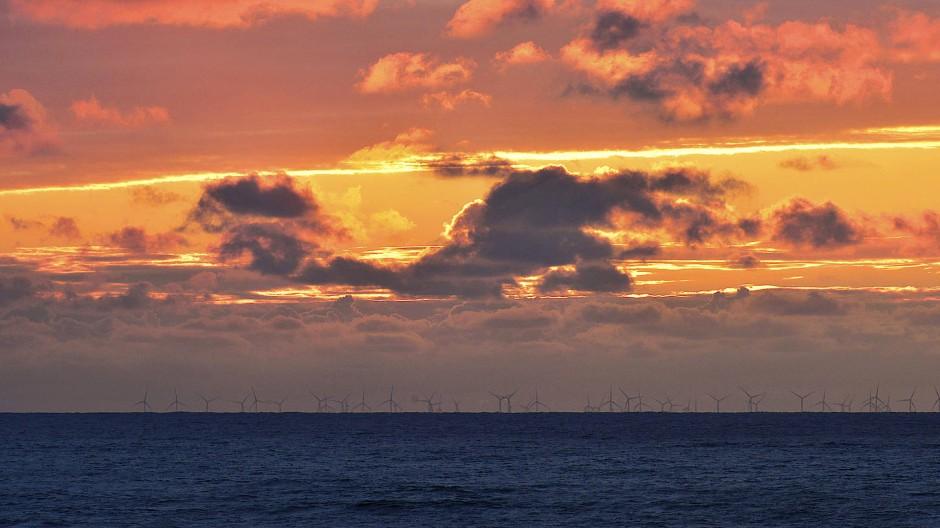 Wo einst das Doggerland war, fließt nun die Nordsee.