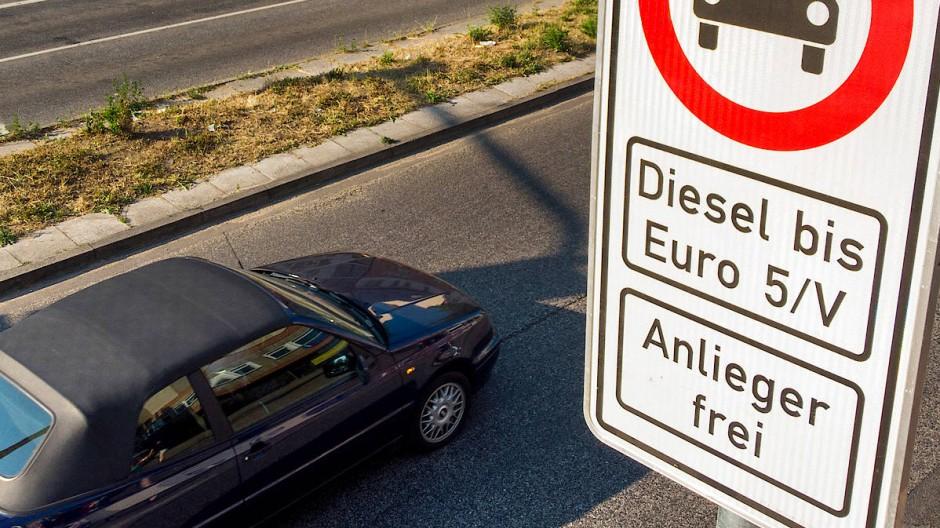 Schuldzuweisung für Fahrverbote