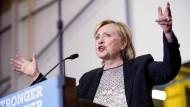 Hillary Clinton fordert Veröffentlichung von Trumps Steuererklärung