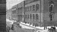 Der Neubau der Kriegsakademie Berlin 1883.