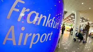 Razzia am Frankfurter Flughafen