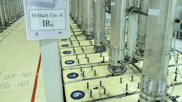 Iran will Urananreicherung auf 60 Prozent erhöhen