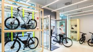 Aus einem Guss: E-Bikes von VanMoof