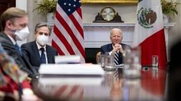 Biden will Mexiko auf Augenhöhe behandeln