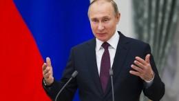 Wladimir Putin beginnt seine vierte Amtszeit