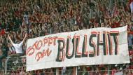 Mainzer Fans sorgen für Stimmung auf der Tribüne des heimischen Bruchwegstadions.