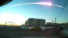 Meteoriteneinschlag im russischen Tscheljabinsk