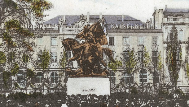 Granaten aus Bismarcks Kopf