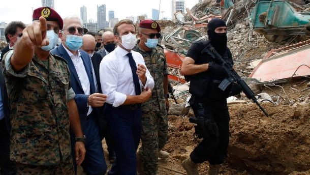 Macron soll bei Reformen im Libanon helfen