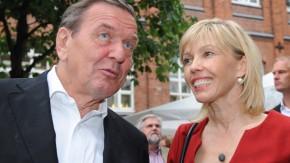 Doris Schröder-Köpf mit Ehemann