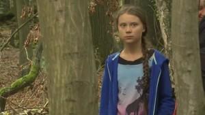 Greta im Hambacher Forst