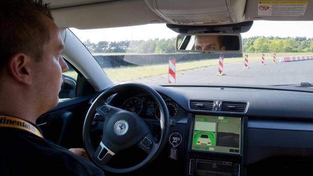 Continental baut ein Roboterauto