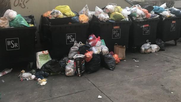 Wohin mit dem Müll?