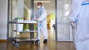 Im Kampfeinsatz gegen das Virus