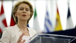 Von der Leyen hält entscheidende Rede vor EU-Parlament