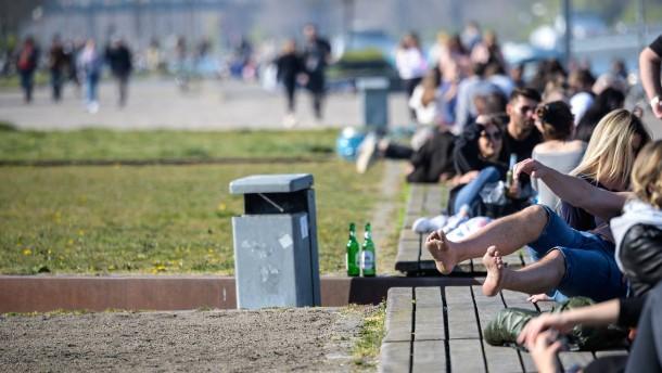 Mainz geht gegen Feier-Exzesse vor