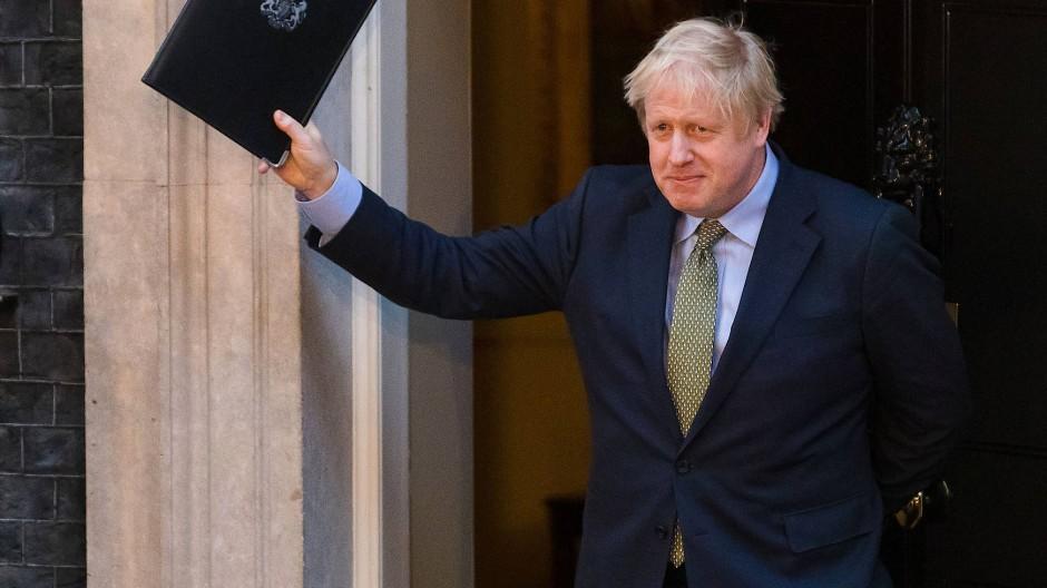 Johnsons Wahlsieg ebnet Weg für Brexit
