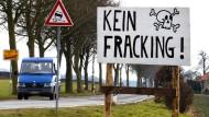 Koalition verschiebt Votum über Fracking-Gesetz